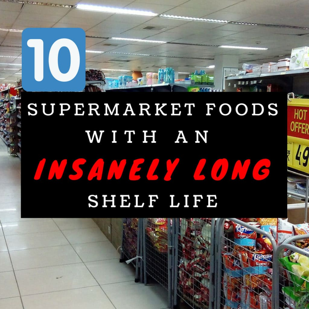 10 Supermarket Foods with a Long Shelf Life