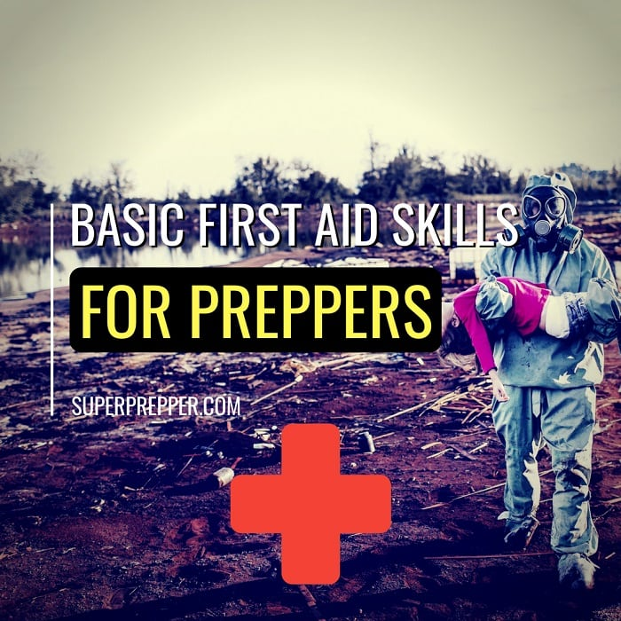 Basic First Aid Skills for Preppers Title