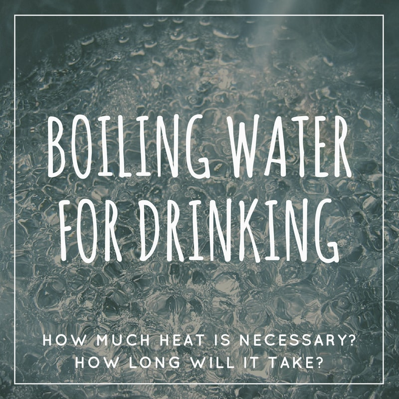 Boiling Water for Drinking Title Image