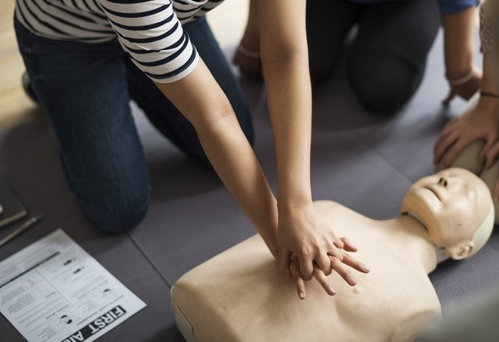 CPR Training classes are available locally in most areas.