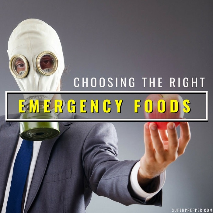 Choosing the Right Emergency Foods to Store