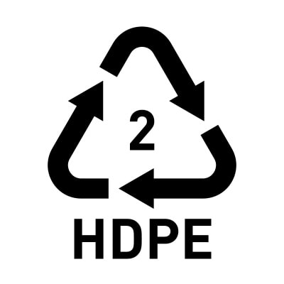 HDPE 2 plastics are best for water storage.