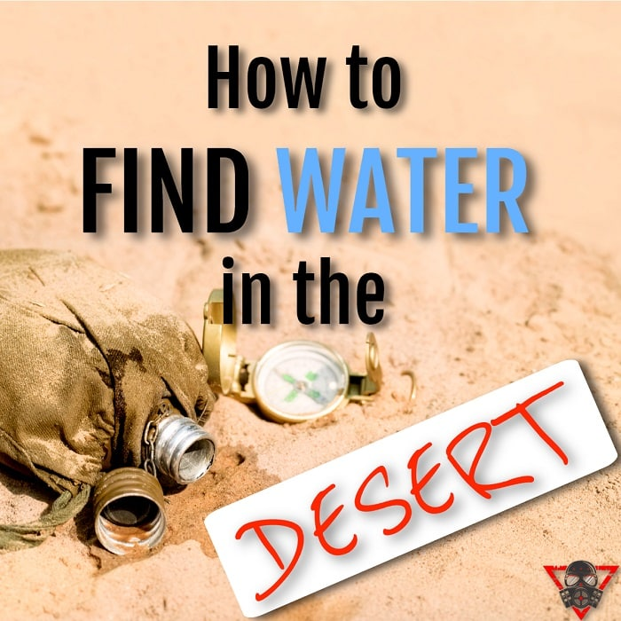 How to Find Water in the Desert