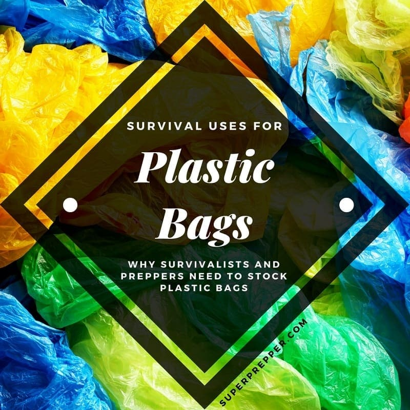 Survival Uses for Plastic Bags Title Image