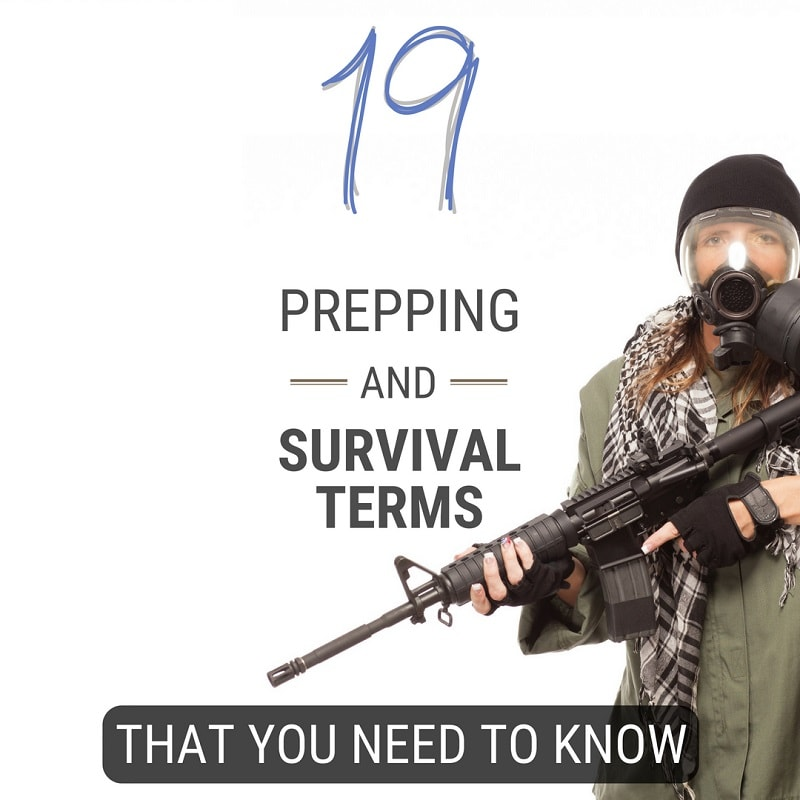 Prepping and Survival Terms You Need to Know