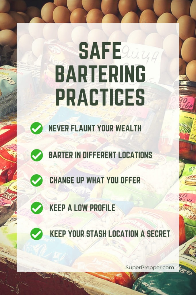 Rules for Safe SHTF Bartering