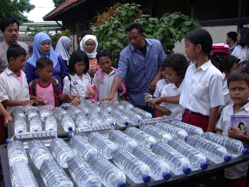 SODIS Water Purification in Indonesia