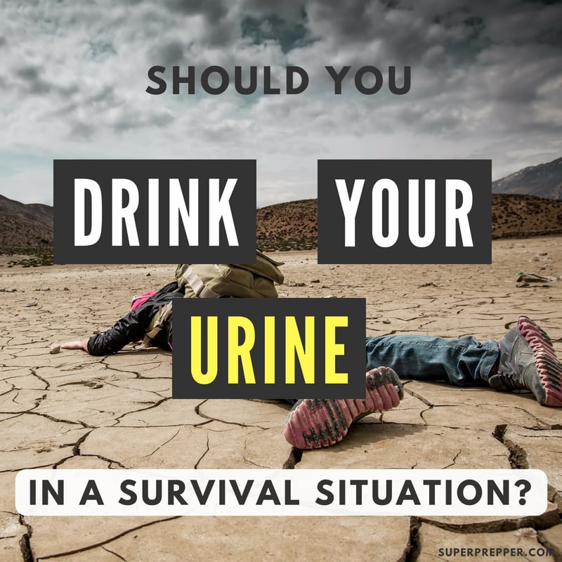 Should You Drink Your Urine in a Survival Situation
