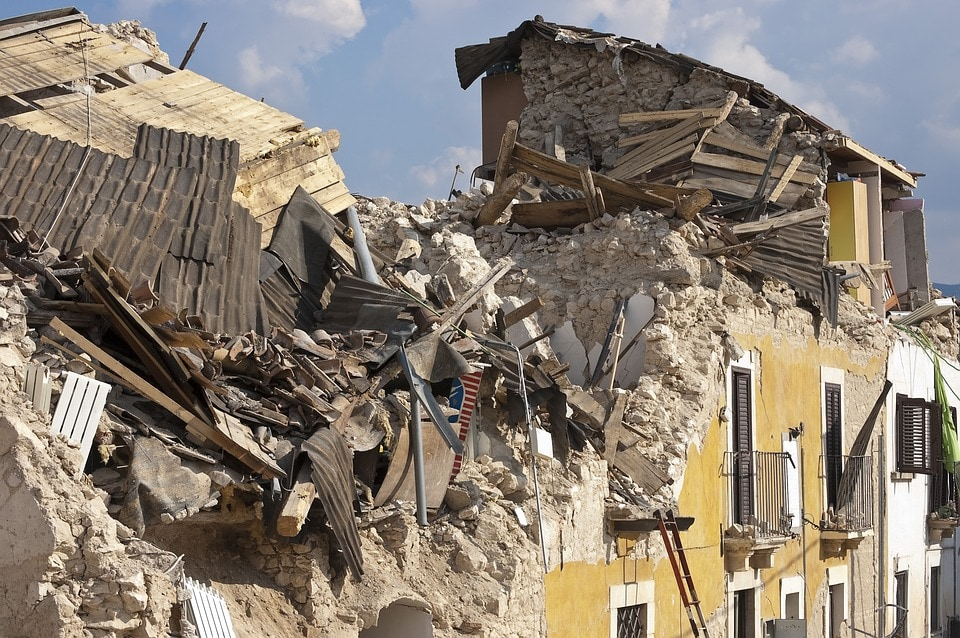 Earthquake survival at its most challenging.