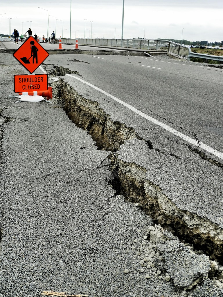 If you want to survive an earthquake, be cautious even after the shaking stops.