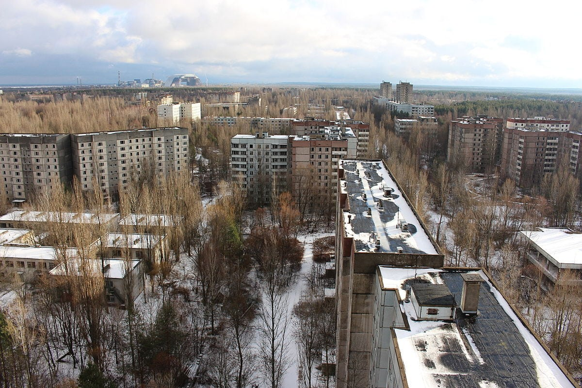 Areas near Chernobyl are still mostly abandoned thanks to radiation contamination.