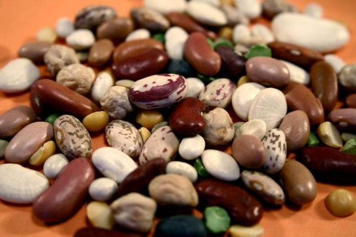 Dried beans will last for many decades.