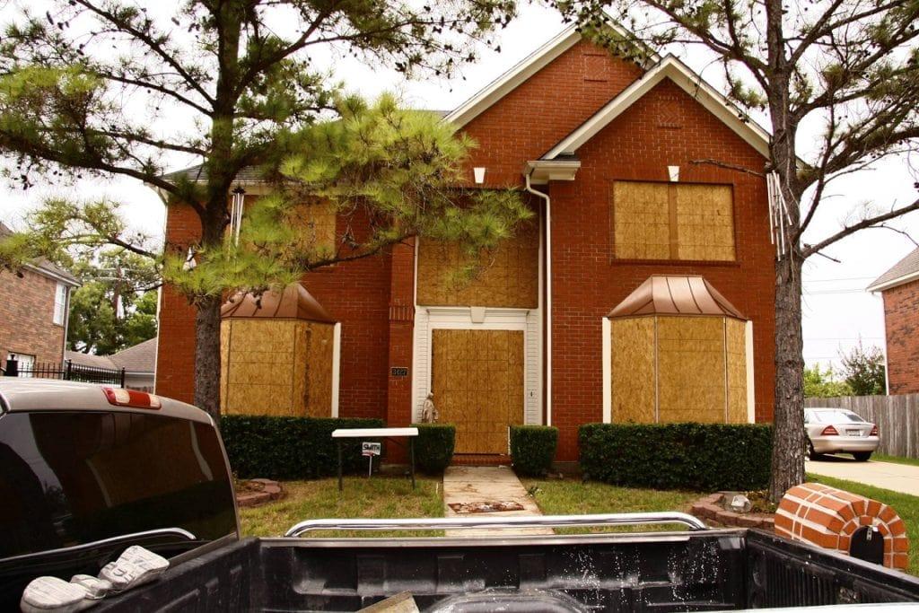 A home prepared for landfall of Hurricane Ike is 2008.