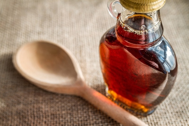 Maple syrup lasts for an incredibly long time.