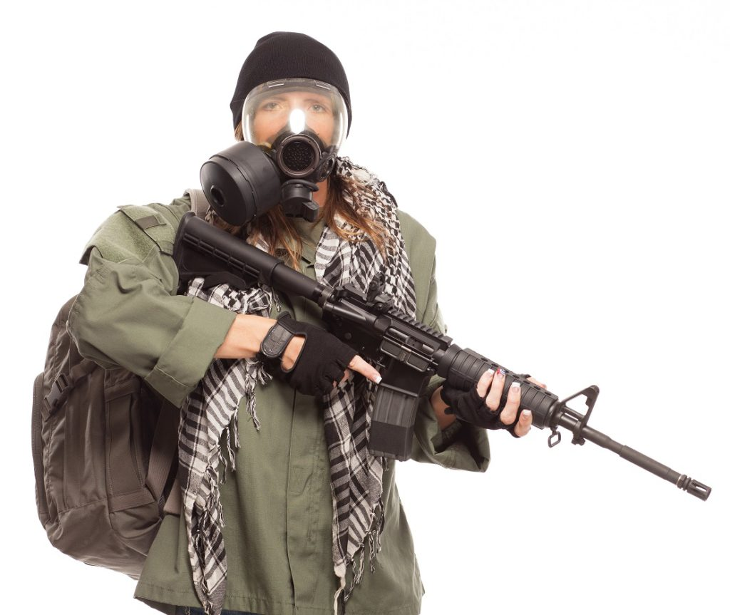 A prepper is ready for anything.