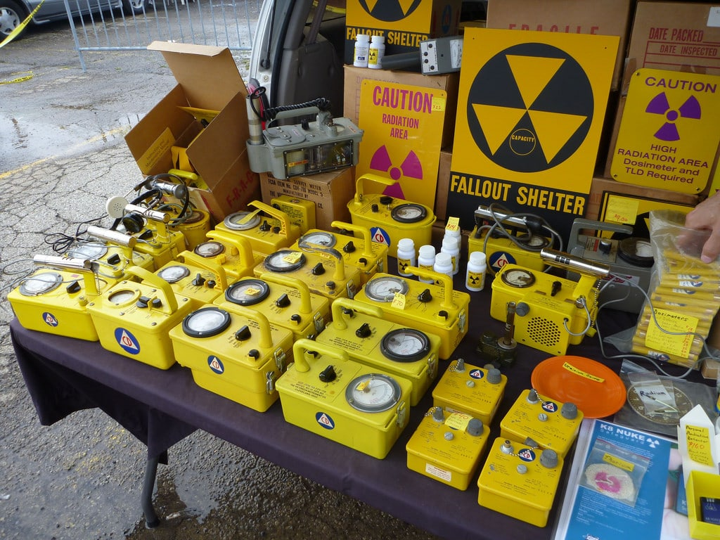 Radiation detectors and other related supplies.