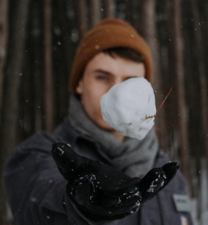 A ball of snow does not make good drinking water.