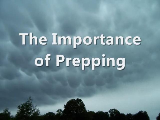 Importance of Prepping